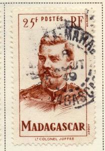 Madagascar 1946 Early Issue Fine Used 25F. 324793