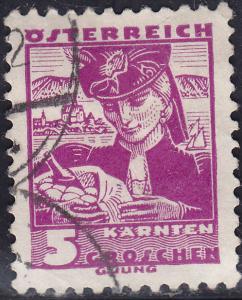 Austria 357 Costumes of Austria Carinthia 1934