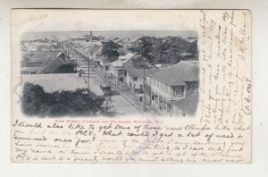 JAMAICA, 1904 ppc. KING St., HARBOUR & PALISADOS,  1d Falls to St. Louis.