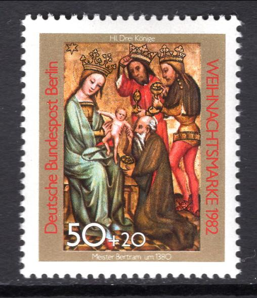 Germany Berlin 9NB186 Christmas MNH VF
