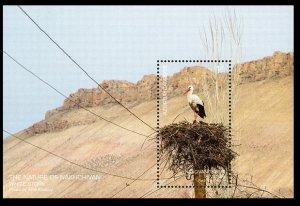 2019 Azerbaijan 1533/B245 Nakhchivan. White stork