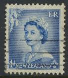 New Zealand SG 728 SC# 293 Used  see details 1953 QE II  Definitive Issue