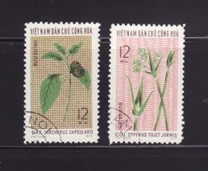 North Vietnam 739-740 U Plants