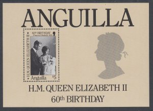 Anguilla 677 Queen Elizabeth II Souvenir Sheet MNH VF
