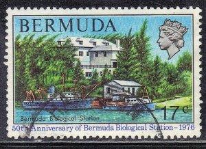 BERMUDA  SC# 334 **USED** 17c 1976     SEE SCAN