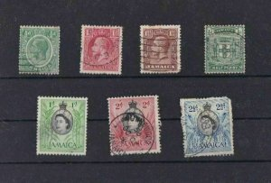 JAMAICA    MOUNTED MINT  & USED STAMPS  SOME FAULTS REF 2055