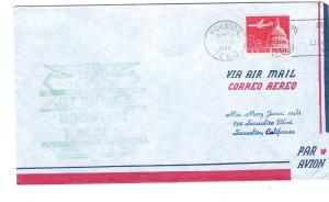 Jet J953 First Flight Braniff USA - Canal Zone 10/30/63