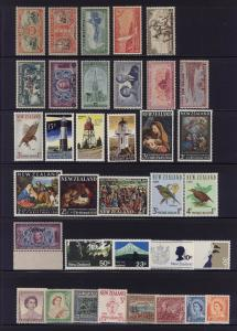 New Zealand nice early issues collections lot - MNH MLH OG