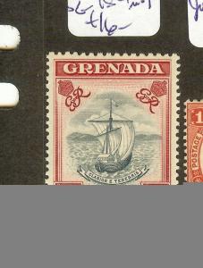 GRENADA   (B1201) KGVI $2.50  BOAT  SG184  MOG
