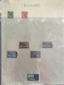 Nyasaland  stamps page R27545