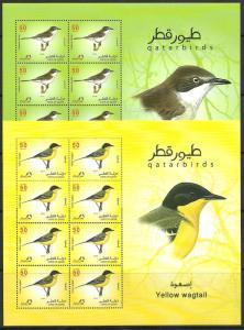 SHH Qatar lot 31 = 2009 Birds 6 sheets  -- best deal  best offer