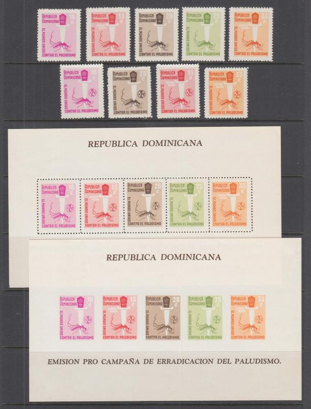 Varisell stamp boutique hipstamp dominican republic sc 558 560 2 souv sheets mnh 1962 malaria eradication publicscrutiny Gallery