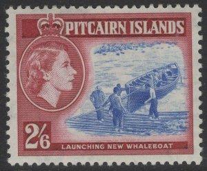 PITCAIRN ISLANDS SG28 1957 2/6 DEFINITIVE MTD MINT
