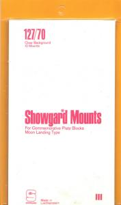 SHOWGARD CLEAR MOUNTS 127/70 (10) RETAIL PRICE $8.35