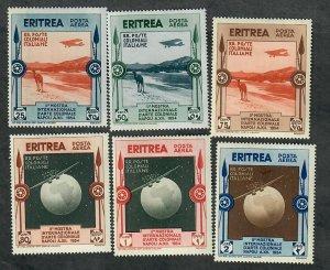 Eritrea C1 - C6 Colonial Arts Mint Hinged singles