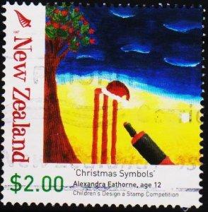 New Zealand. 2007 $2 Fine Used