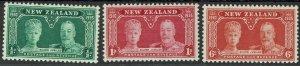 NEW ZEALAND 1936 KGV SILVER JUBILEE SET MNH **