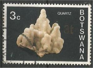 BOTSWANA, 1974, used 3c, Minerals Scott 116