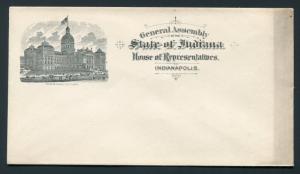 Circa 1900 Indianapolis, Indiana House of Representatives - Unused Envelope