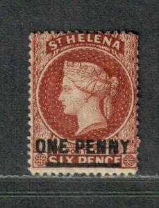 St. Helena Sc#19 M/F, Cv. $120