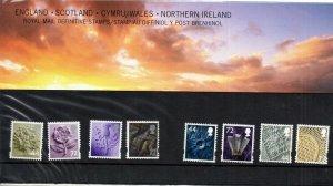 2006 England/Schottland/Wales / Nordirland Vorlage Packung No 73