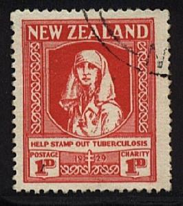 NEW ZEALAND 1929 Health Nurse fine used....................................20595
