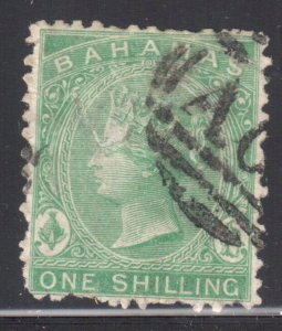 Bahamas #15 Used ( Has a very small thin and some short perf)