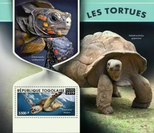 Z08 TG190127b TOGO 2019 Turtles MNH ** Postfrisch