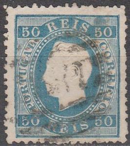 Portugal #43  F-VF Used CV  $50.00  (A16436)