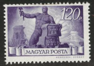 HUNGARY Scott 715 MH* stamp