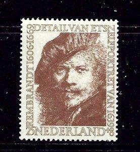 Netherlands B295 MNH 1956 issue