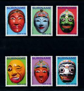 [100540] Suriname 2010 Asian Masks Kartold Bilung Panji Amerdadu  MNH