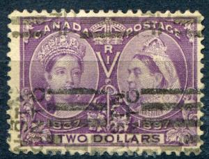 Canada #62 Used  F-VF signed Buehler