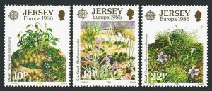 Jersey 396-398,MNH.Michel 378-380. EUROPE CEPT-1986.Environmental Conservation.