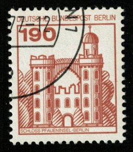 Deutsche, 1977, Palaces and Castles, 190 Pf, Germany, MC #919aI (T-6226)