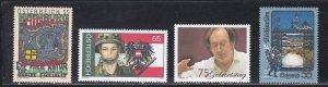 Austria # 1972-1975, Complete sets, LH, 1/3 Cat.
