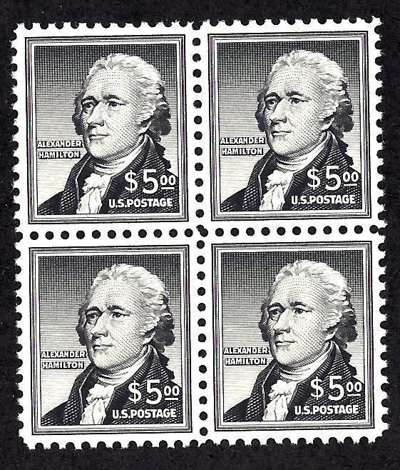 1053 Mint,OG,NH... Block of 4... SCV $200.00