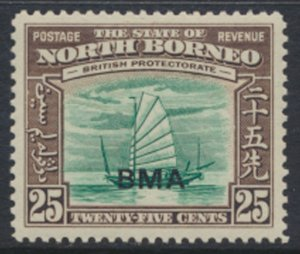 North Borneo  SG 330 SC# 218 MH    OPT BMA  See scans / details