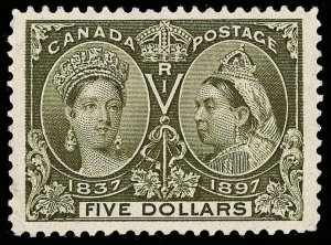 Canada Scott 65 Gibbons 140 Mint Stamp (2)
