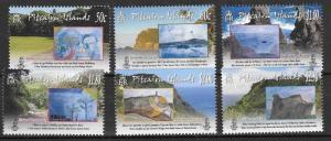 PITCAIRN ISLANDS SG796/801 2010 CHILDRENS ART MNH