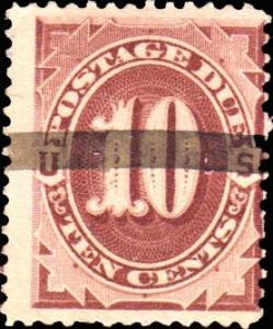 United States Scott J19 Used.