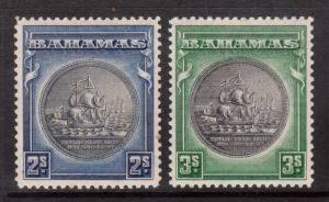 Bahamas #90 - #91 VF Mint