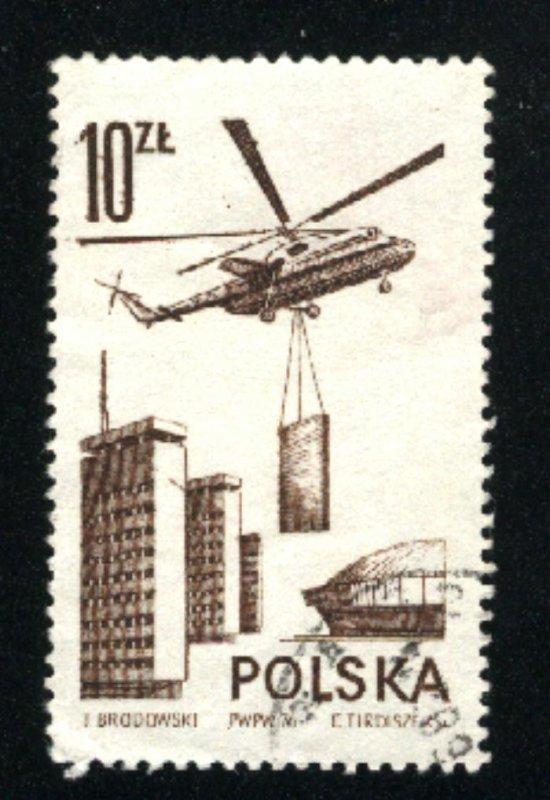 Poland C54  u VF   1976-78 PD