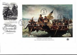 1688 First Day Cover... SCV $7.50... 11 x 8