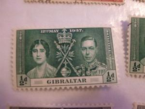 Gibraltar #104 mint HR (reference 1/2/5/1)