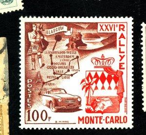 Monaco #365 MINT VF OG LH Cat$20