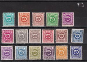 Austria 1945 Mint Never Hinged Stamps ref R 17169