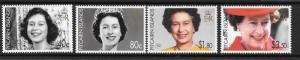 PITCAIRN ISLANDS SG711/4 2006 80th BIRTHDAY OF QUEEN ELIZABETH MNH