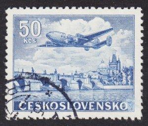 Czechoslovakia Scott C27 Fine used. Key issue.