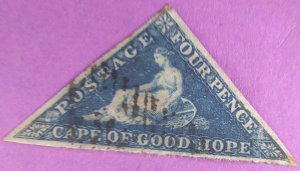 Cape of Good Hope Great centering clean  Tiny crease lower right corner Buy now!